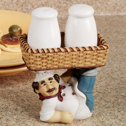 Marcello Salt and Pepper Shakers Set  Set of Three