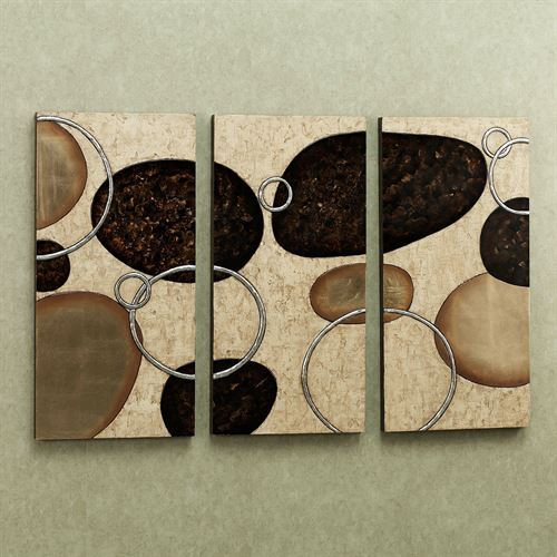 Levitate Triptych Wall Art Set  Set of Three
