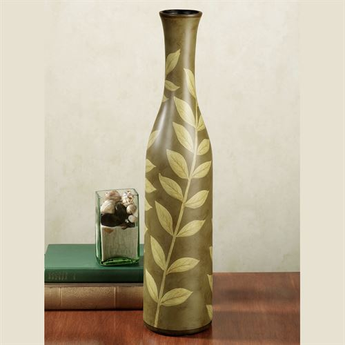 Lyrical Vines Vase Sage