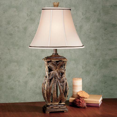 Cocoa Beach Table Lamp Bamboo