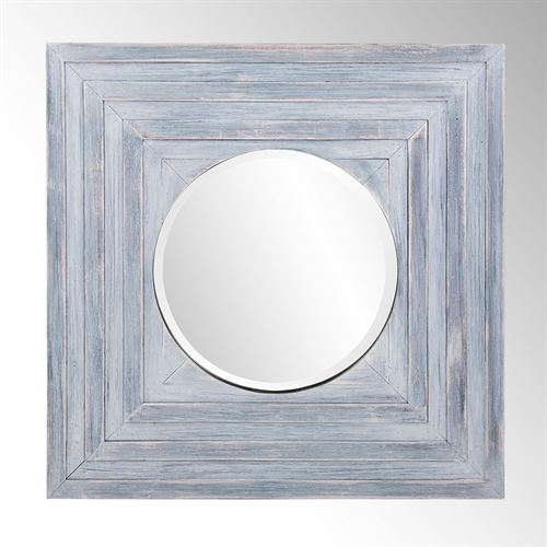 Flint Wall Mirror Gray