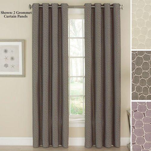 Bubbling Grommet Curtain Panel