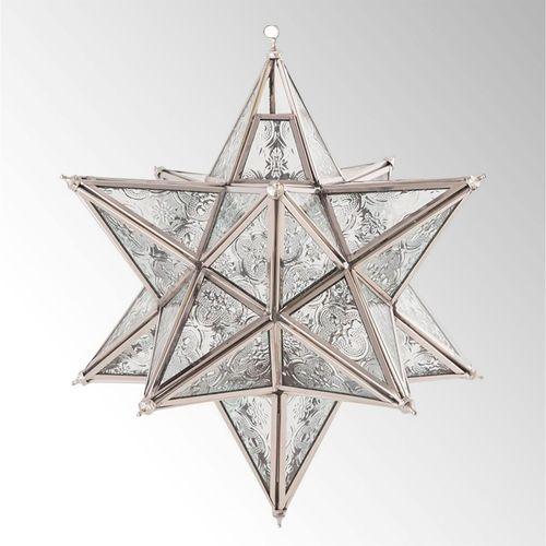 Starlight Hanging Candleholder Lantern Clear