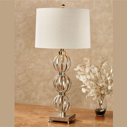 Lawrence Table Lamp Platinum