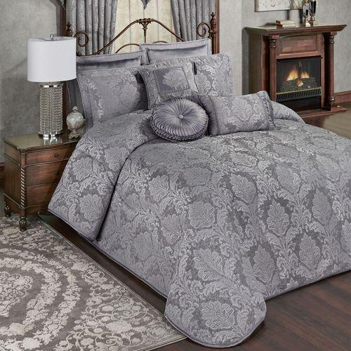 Camelot Grande Bedspread Gray