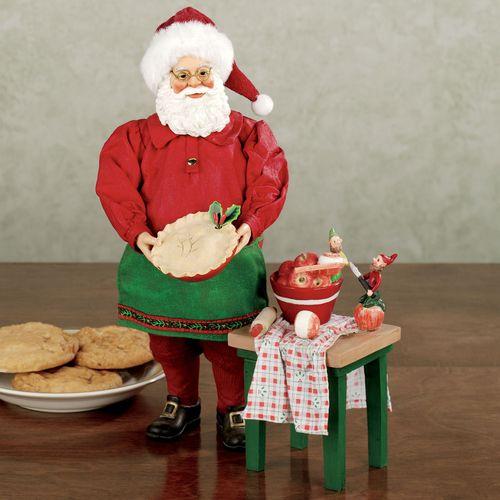 Apple Pie Clothtique Santa Set Red