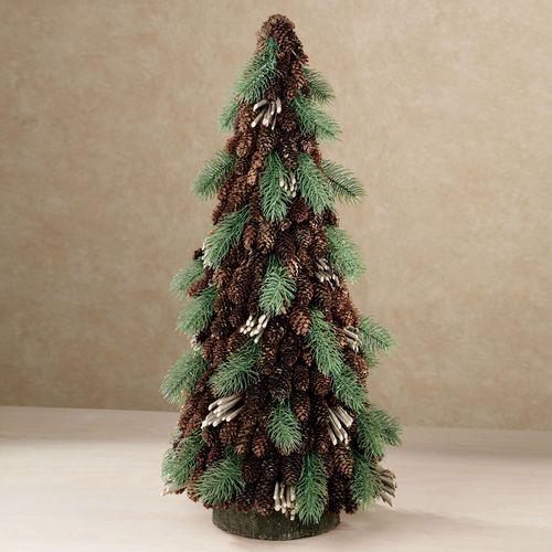 Pine Cone Rustic Tree Green