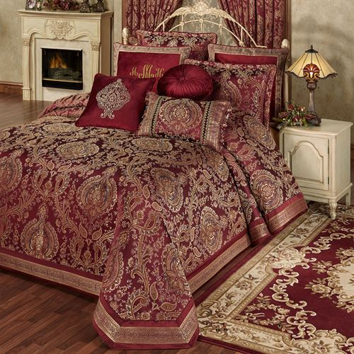 Courtland Grande Bedspread Cordovan
