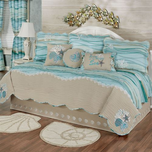 Seaview II Daybed Set Light Blue Daybed