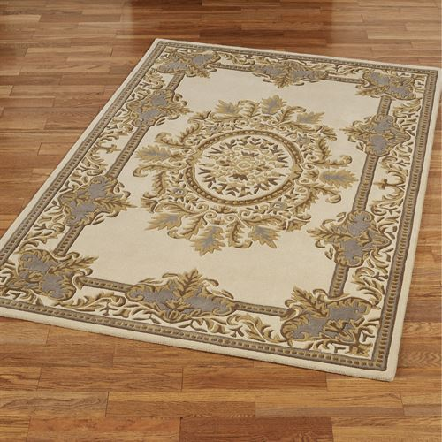 Belmont Rectangle Rug Ivory