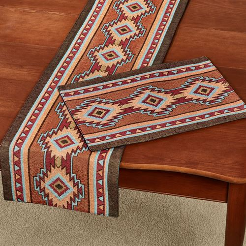 Luna Table Runner Multi Warm 13 x 72