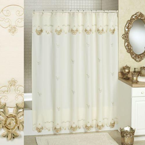 Bella Rose Shower Curtain  70 x 72