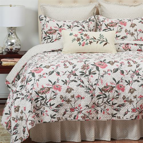 Blair Garden Mini Quilt Set Ecru