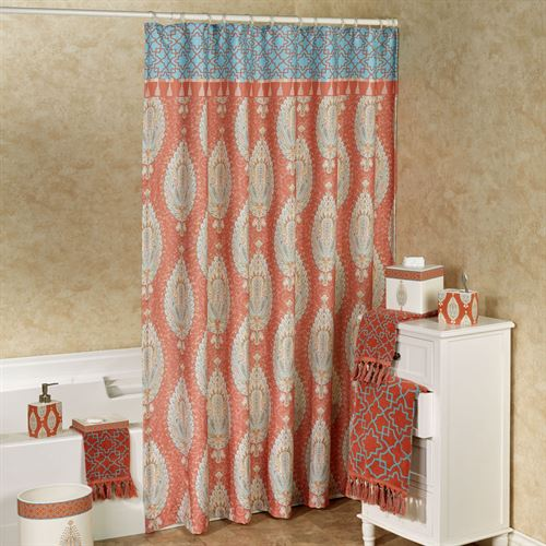 Kaiya Shower Curtain Sunset 72 x 72
