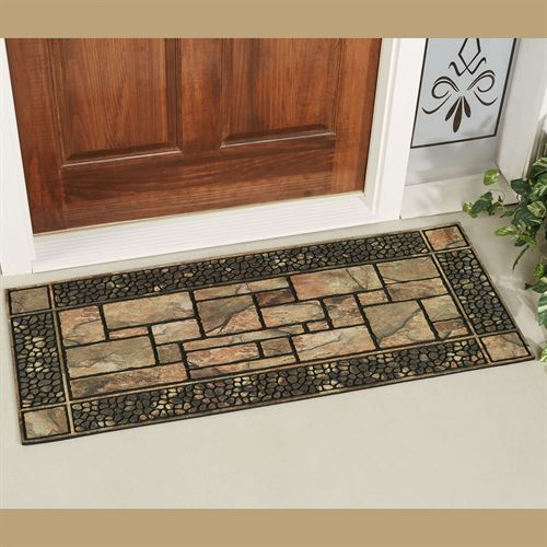 Patio Stone Mansion Mat Natural 47 x19.5