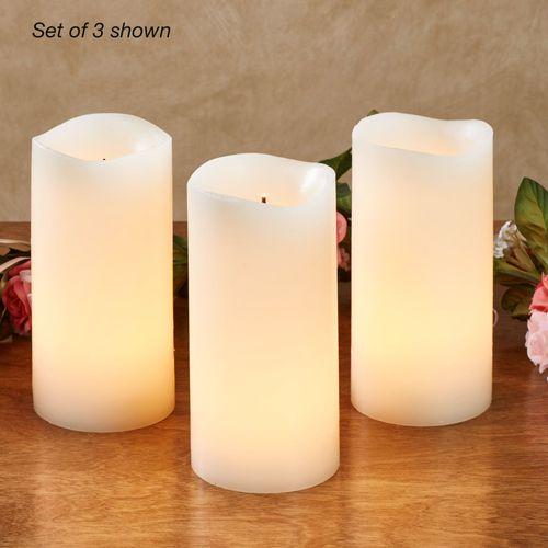 Shama LED Flameless Candles Ivory