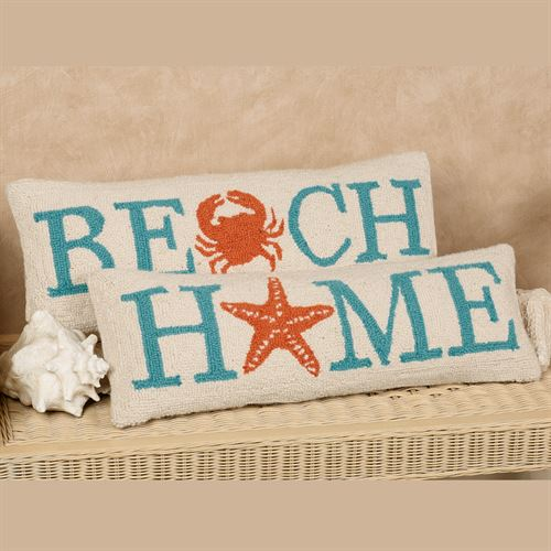 Seashore Hooked Decorative Pillows Best Seashore Decorative Pillows