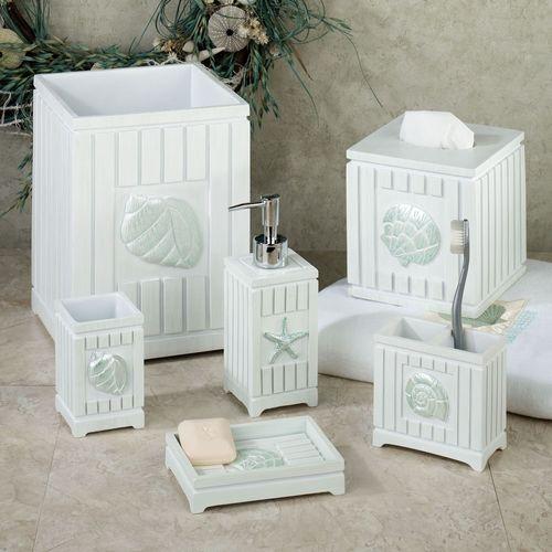 Seaside Lotion Soap Dispenser White