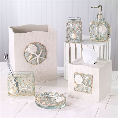 Sea Glass Lotion Soap Dispenser Aqua Mist