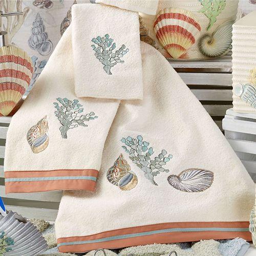 Sea Breeze Bath Towel Set Pearl Bath Hand Fingertip