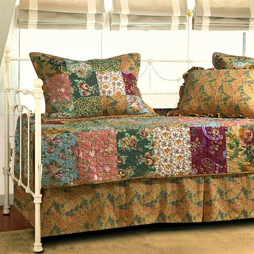 Antique Chic Daybed Set Multi Warm Daybed