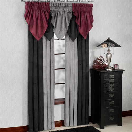 Camden Unlined Tailored Curtain Pair 84 x 84