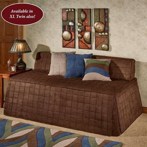 Camden Hollywood Daybed Cover Chocolate