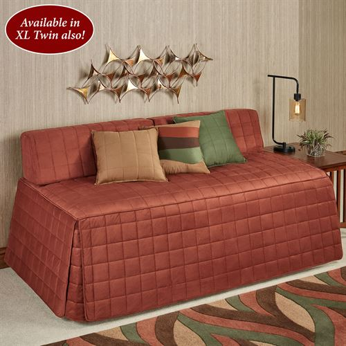 Camden Hollywood Daybed Cover Russet