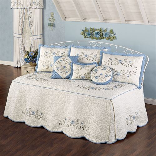 Antique Charm Daybed Set Dusty Blue Daybed