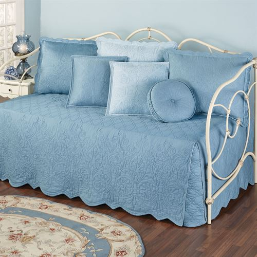 Everafter Daybed Set Dusty Blue Daybed