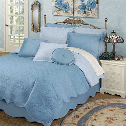 Everafter Quilt Set Dusty Blue