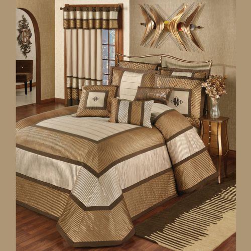 Delta Grande Bedspread Bronze