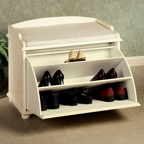 Amelia Shoe Storage Bench