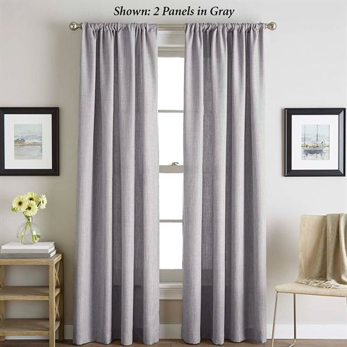 Monty Tailored Curtain Panel