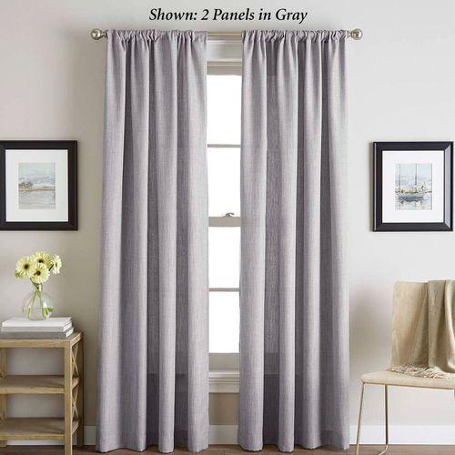 Monty Tailored Curtain Panel
