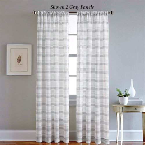 Brynlee Sheer Curtain Panel