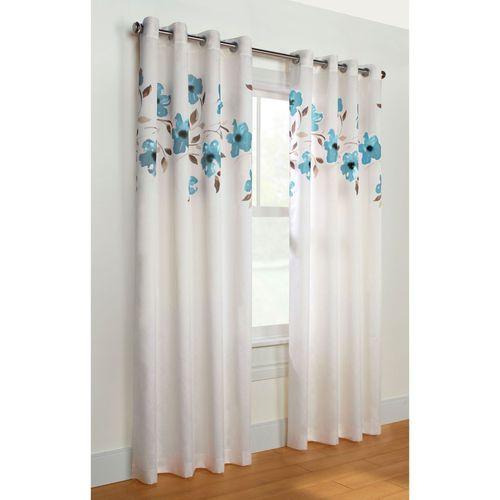 Botanic Bliss Grommet Curtain Panel