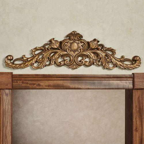 Aradelle Door Topper Aged Gold