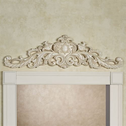 Aradelle Door Topper Antique White
