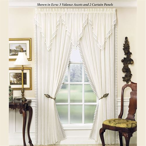 Rozelle Semi Sheer Curtain Panel