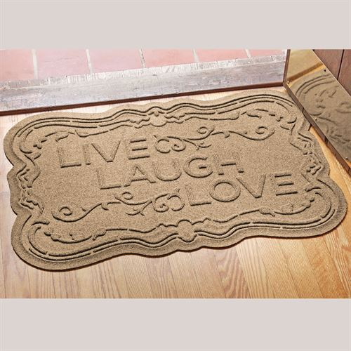 Live Laugh Love Doormat 35 x 22