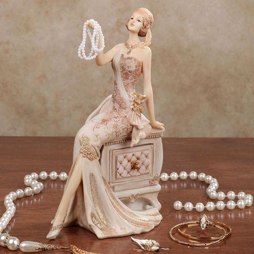 Graceful Beauty Lady Figurine Ivory