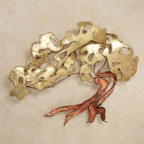 Juniper Bliss Metal Wall Sculpture Multi Metallic