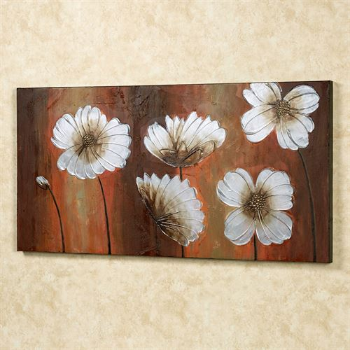 Dancing Blooms Canvas Art Multi Bright