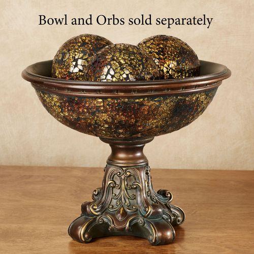 Kyara Mosaic Decorative Centerpiece Bowl Only Bronze