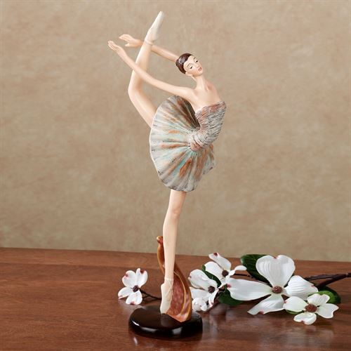 Lost in Motion Ballet Figurine Blue