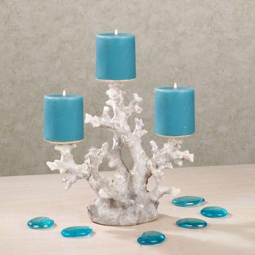 Coral Treasures Candleholder Ivory/Beige