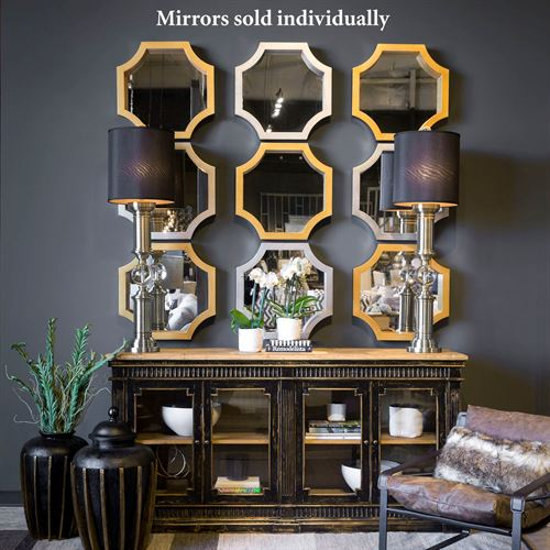 Mattingly Octagonal Accent Wall Mirror