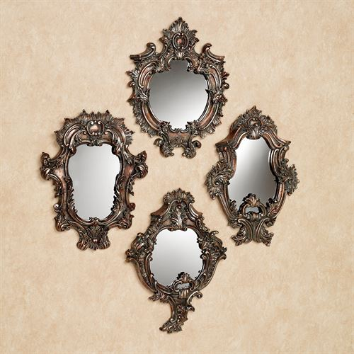 Catania Accent Wall Mirror Set Multi Metallic Set of Four