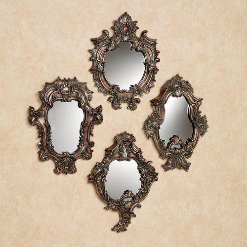Catania Accent Wall Mirror Set Multi Metallic Set of Four